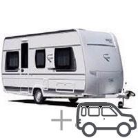 caravan + car pitch